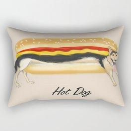 Hot Dog Rectangular Pillow