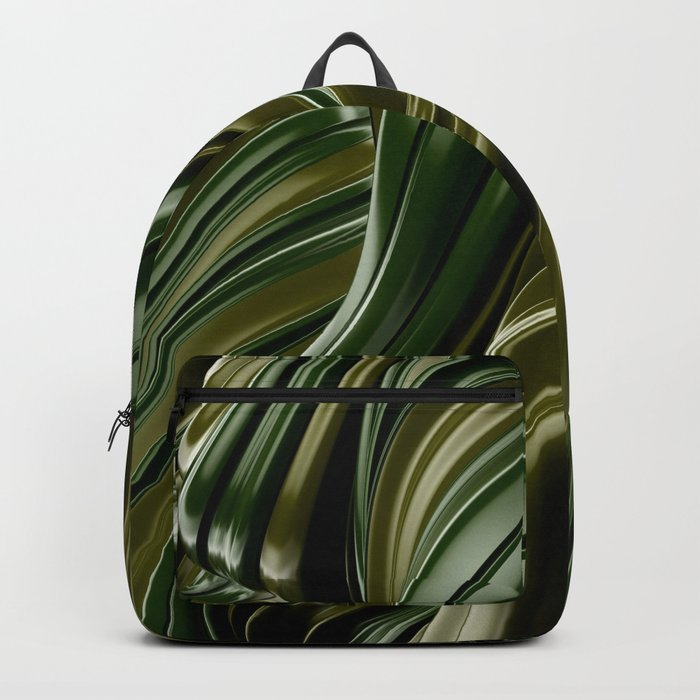 Green Wave Backpack