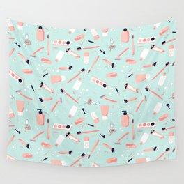 Faire La Toilette- Matin Wall Tapestry