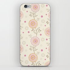 Folky Flowers iPhone & iPod Skin