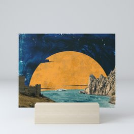 Big sun Mini Art Print