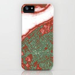 Sanlucar de Barrameda city map pop iPhone Case