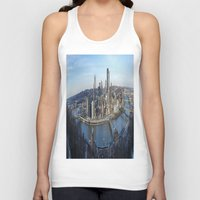 pittsburgh Tank Tops featuring PITTSBURGH CITY by Stephanie Bosworth