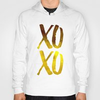xoxo Hoodies featuring XOXO by cat&wolf