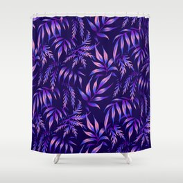 Brooklyn Forest - Purple Shower Curtain