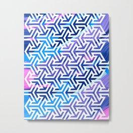 Colorful Pattern V5 #society6 Metal Print