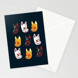 Kitsune Masks Stationery Cards