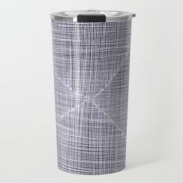 Ink Weaves: White Quartz Travel Mug