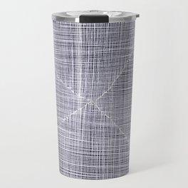 Ink Weaves: White Quartz Travel Mug