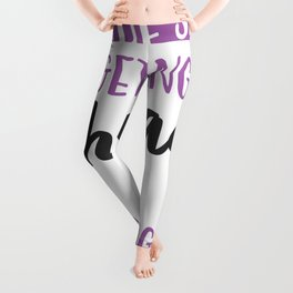 The Secret of Getting Ahead is Getting Started Leggings