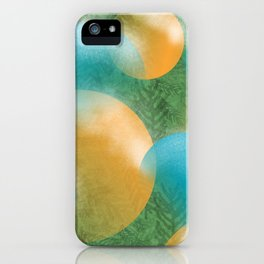 frosted ornaments iPhone Case