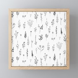 Wildflowers Framed Mini Art Print
