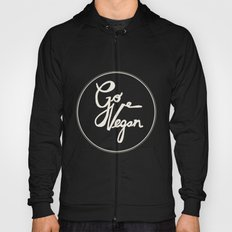 Go Vegan Grey Hoody