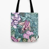 splash Tote Bags featuring Splash by Vikki Salmela