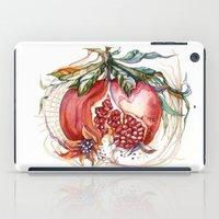 pomegranate iPad Cases featuring Pomegranate by Irina Vinnik