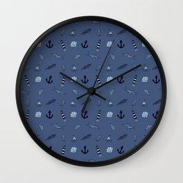 High Seas Wall Clock