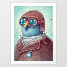 Pilot Captain Ivan Twittor Art Print