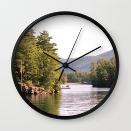 Beautiful Lake George Wall Clock
