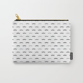 Grey Mustache Carry-All Pouch
