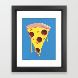 Give Me A Pizza Your Mind Framed Art Print