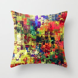 one oh one Throw Pillow