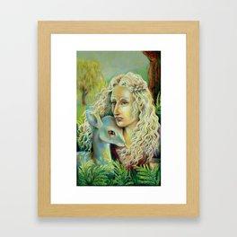 A Safer Place Framed Art Print
