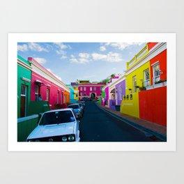 Bo Kaap Art Print