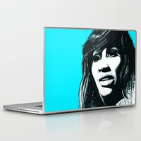 tina Laptop & iPad Skins featuring Tina Turner by ChrisGreavesCreative
