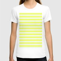 stripes T-shirts featuring Stripes by Simply Chic