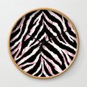 Zebra fur texture print by innapoka