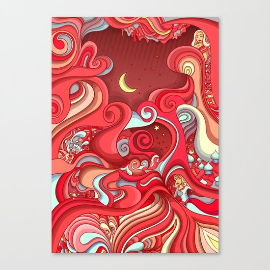 Dream Weave Canvas Print