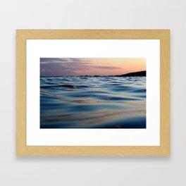 Liquid Heaven Framed Art Print
