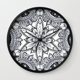 Bejewelled Wall Clock