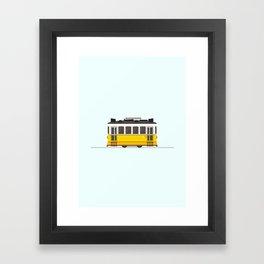 Lisbon 28 Tram Framed Art Print