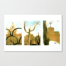 TUCSON TIMES Canvas Print