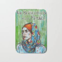 The Revolution Will be Female - 2 Bath Mat