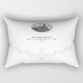 Danvers - State Insane Asylum, Danvers, MA Rectangular Pillow