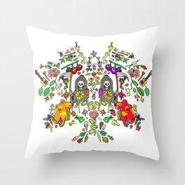 Mirror Spring & Reapers Throw Pillow