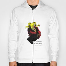 The Ramilla: 'wait, young man.' Hoody