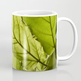 Tropical vibes leaves - Summer Light Coffee Mug