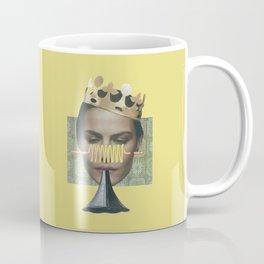 Sad trumpet in yellow Coffee Mug