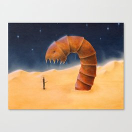 Paul encounters the Maker Canvas Print