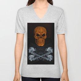 Skull And Crossbones 2 Unisex V-Neck