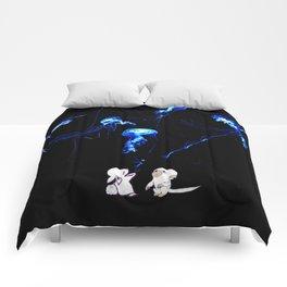 Jellyfish balloons.  Comforters