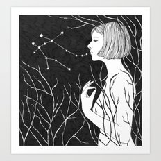 Under Stars Art Print