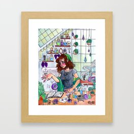 Blessing Framed Art Print