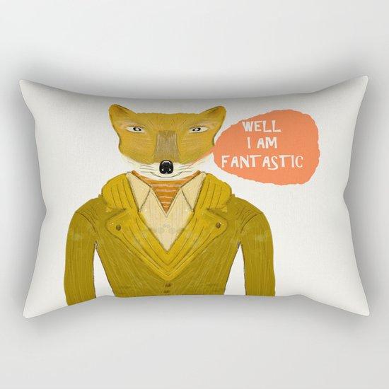well i am fantastic Rectangular Pillow