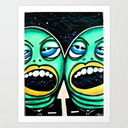 We want pickles Art Print