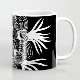 Onion Mandala Negative Coffee Mug