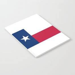 Texas State Flag, Authentic Version Notebook